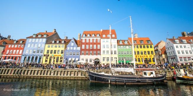 Nyhavn , Copenhagen