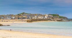 Beaches around St Ives