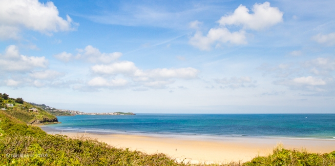 Beaches around St Ives