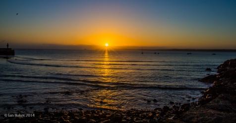 St Ives at sunrise