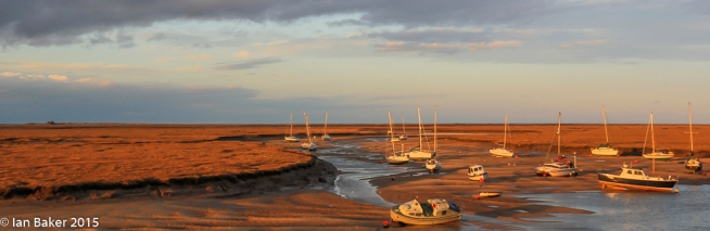 Sunset Wells Next the Sea