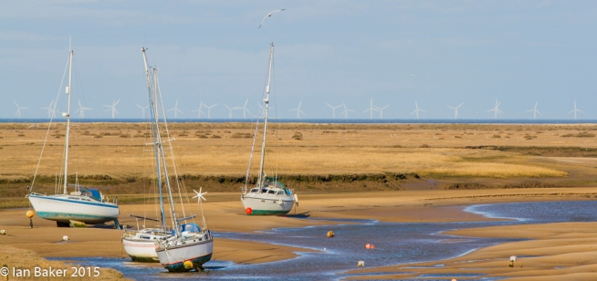 Wind or Tide Power Wells NTS